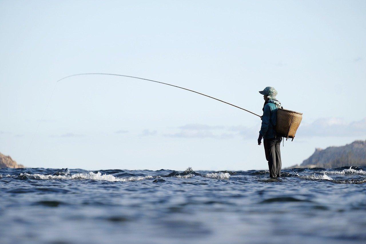 Wędkarstwo popularnym sposobem spędzania wolnego czasu